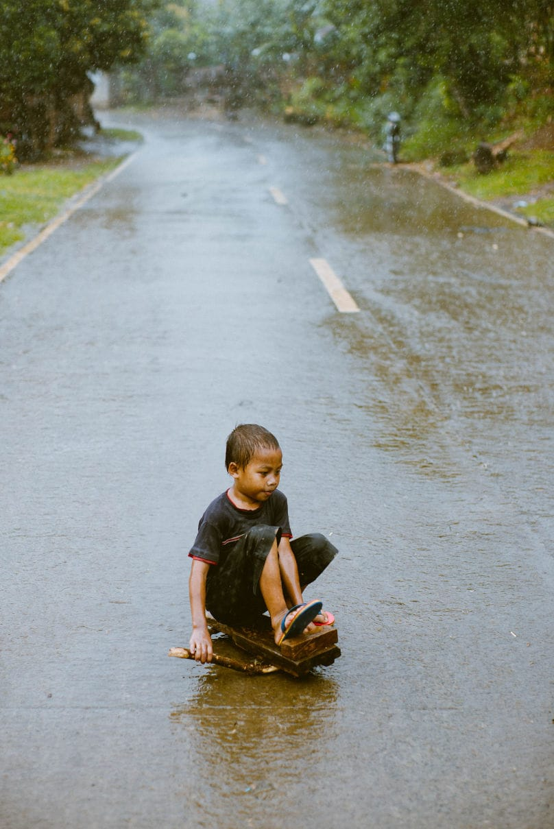 filipino kid riding skateboard