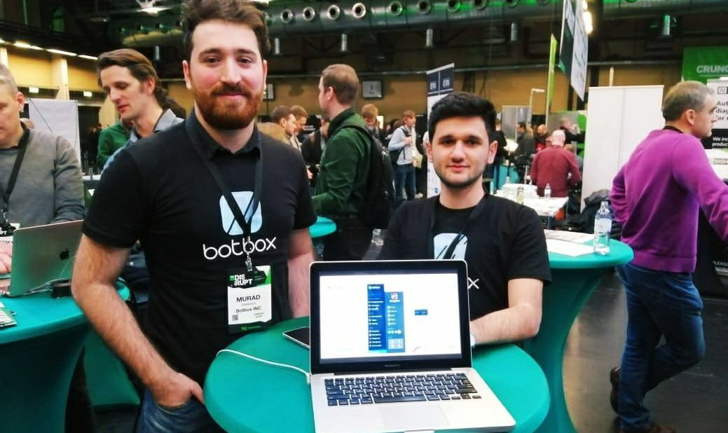 Botbox at Techcrunch Disrupt Berlin