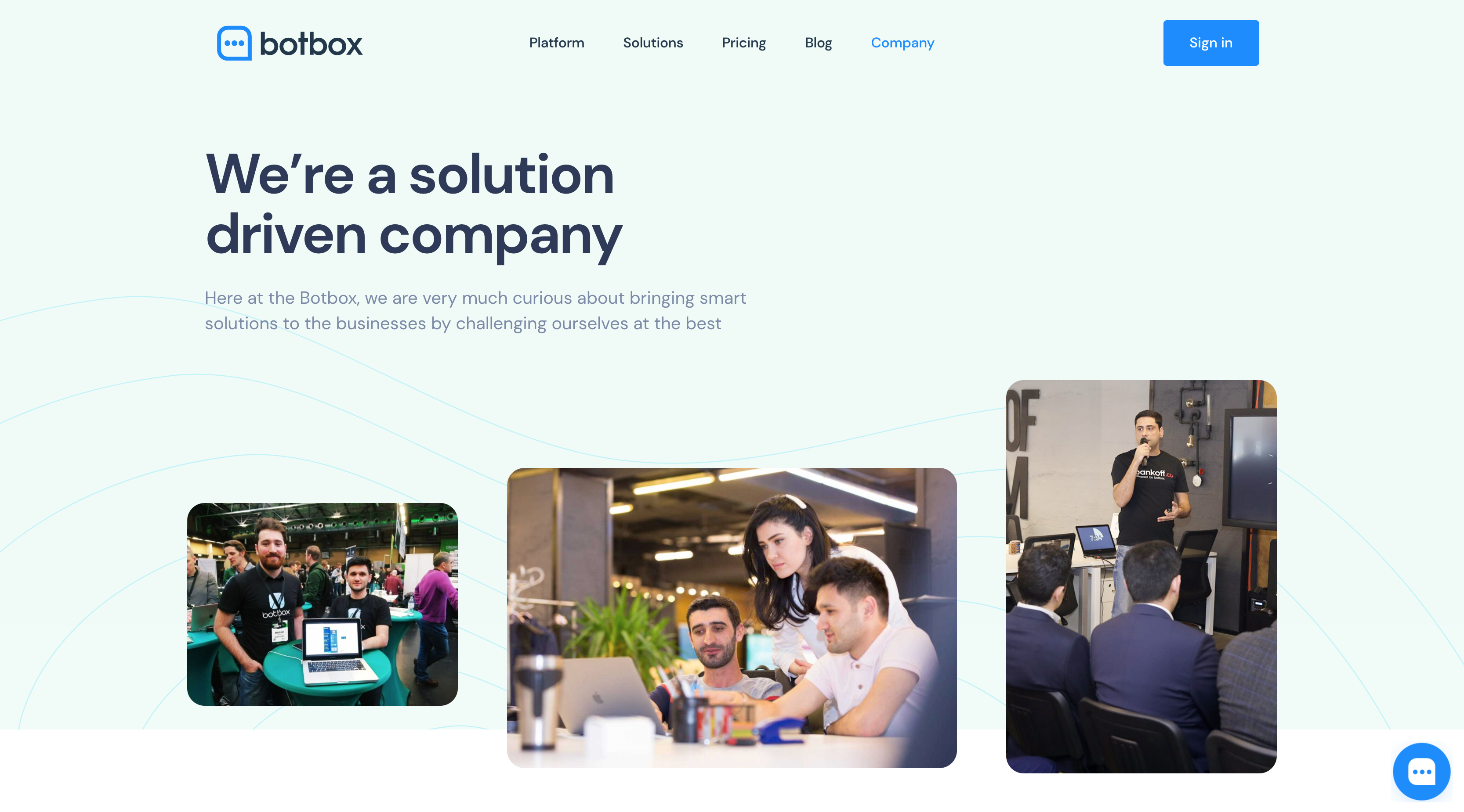 Welcome to the new website - Botbox