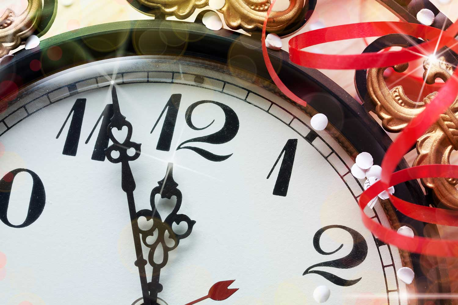 clock for the end of the year Family Law updates