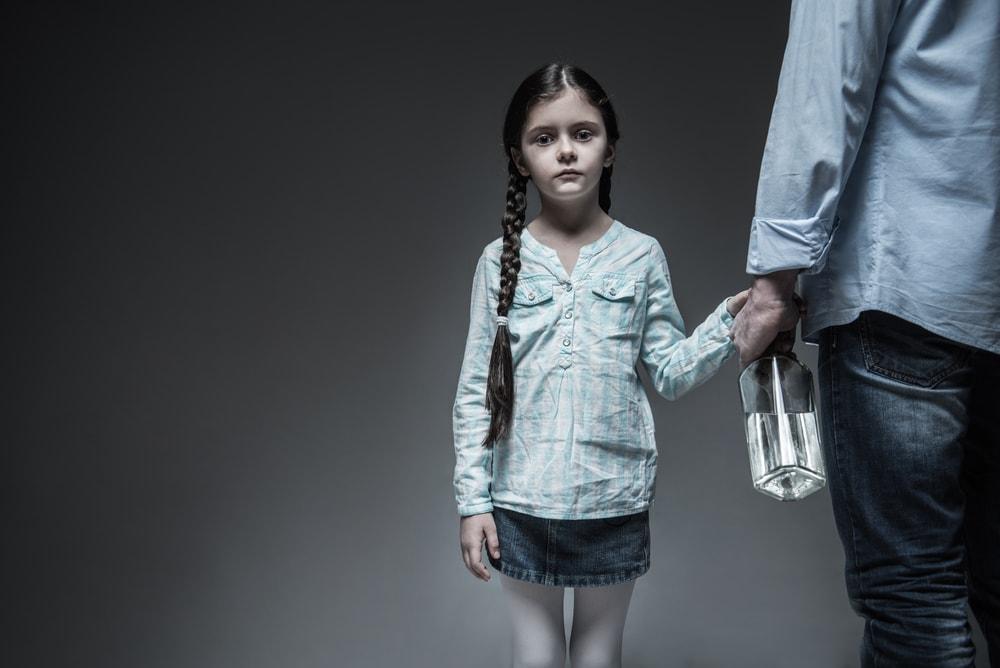 Little Girl Looking Very Sad