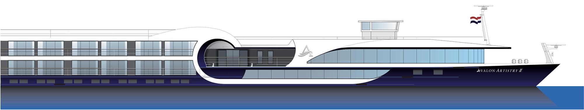 Studio-L design of a river cruiseship