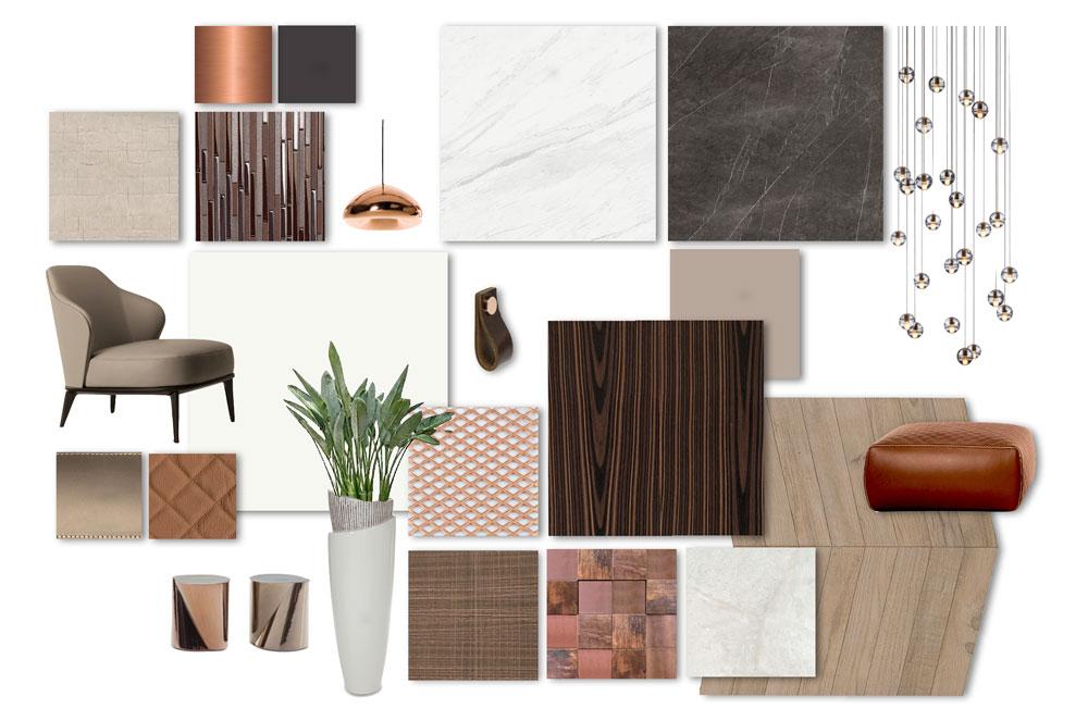Studio-L moodboard of interior