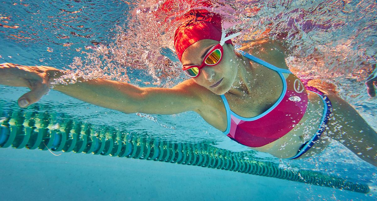 Swimzone lane swimming image