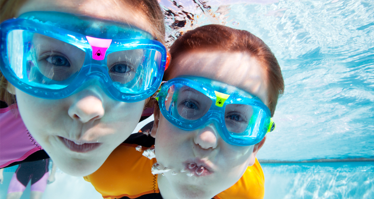 SwimZone Kids in the pool