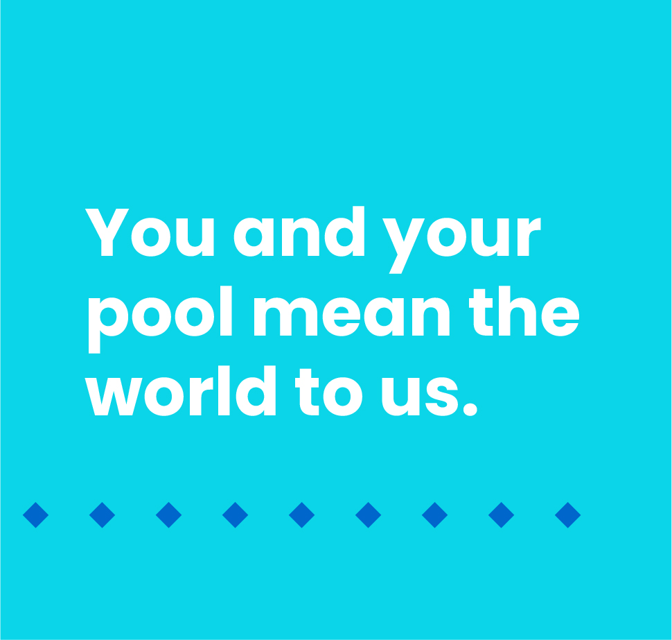 """You and your pool mean the world to us"" Liner World slogan"