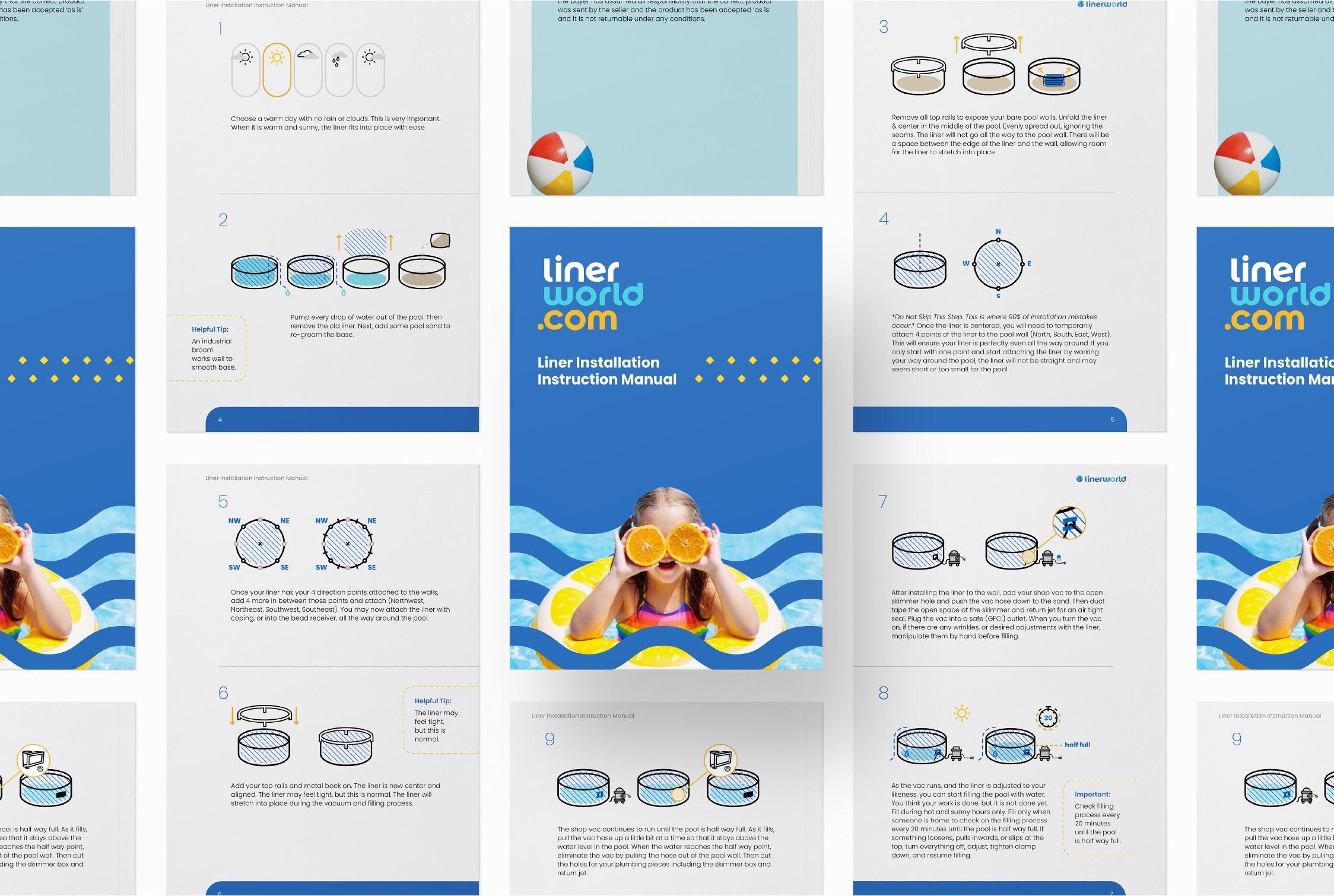Liner World branding manual