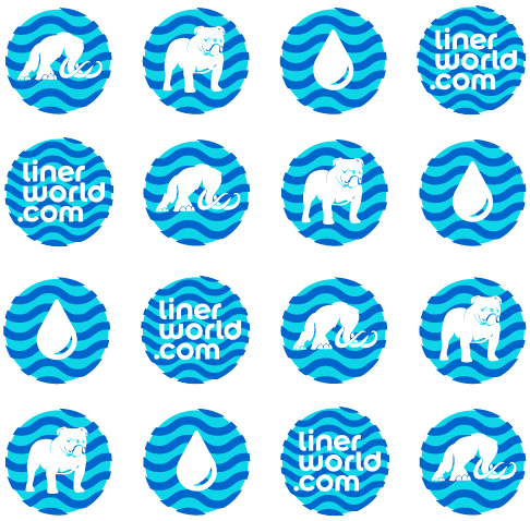 Icons for Liner World branding