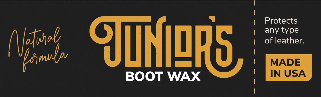 Junior's Bootwax label.