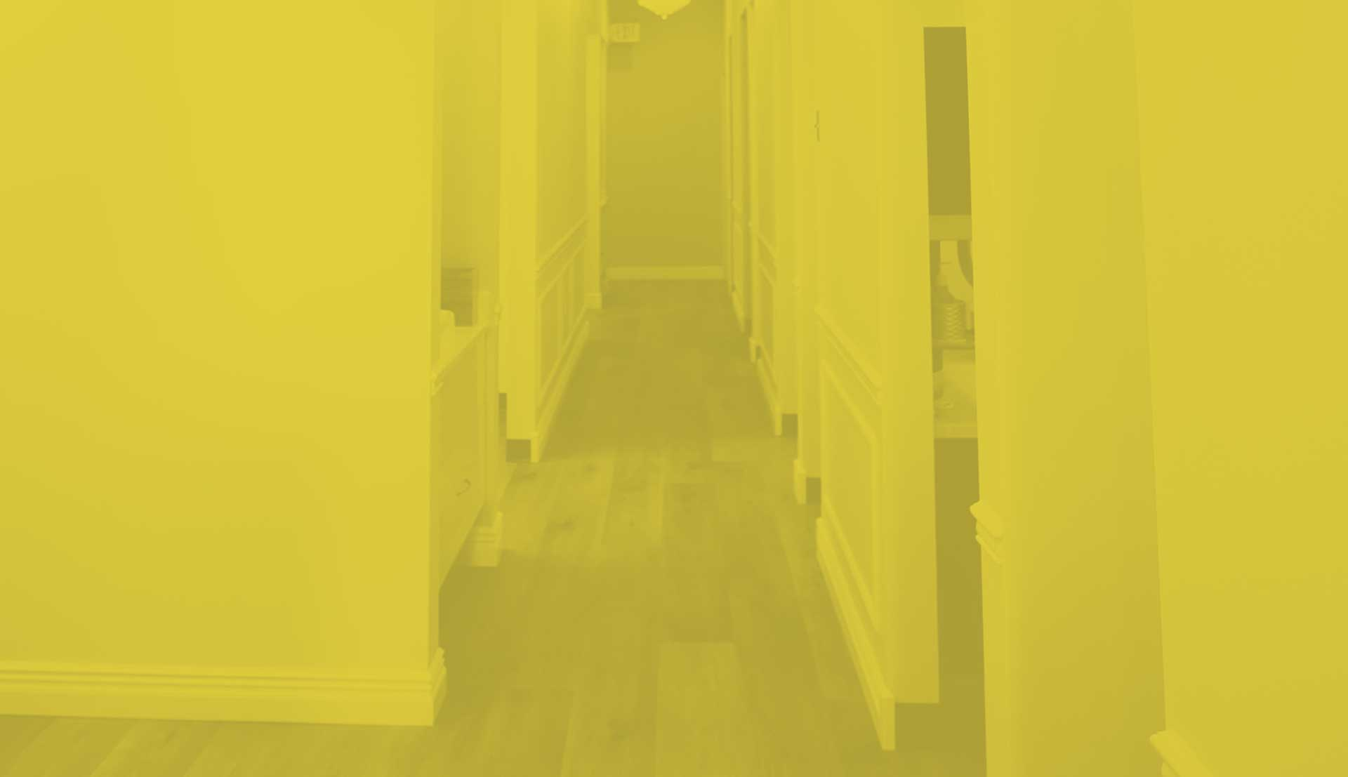 Photo of a hallway at Sunshine Family Dentistry