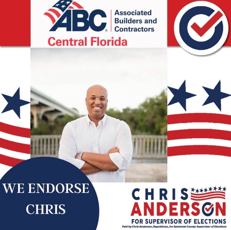 Endorsement Graphic for Associated Builders and Contractors of Central Florida