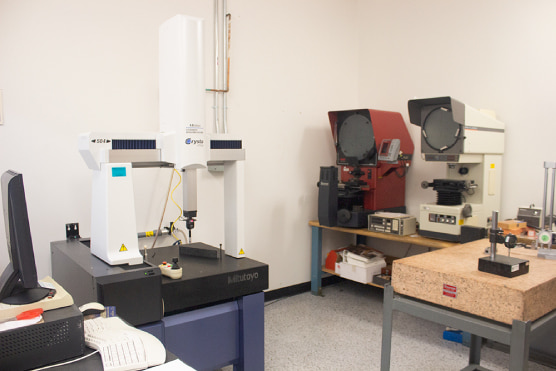 Quality Control room and equipment