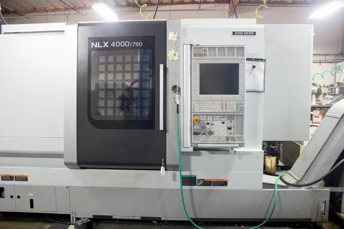 large machined equipment