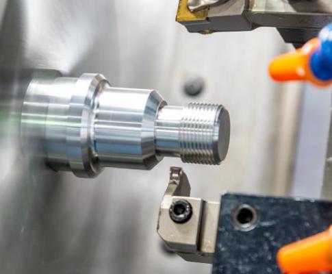 Precision machined part