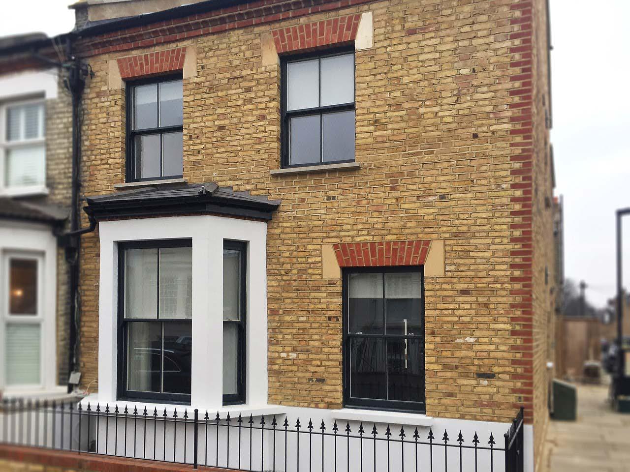 pvcu sliding sash windows