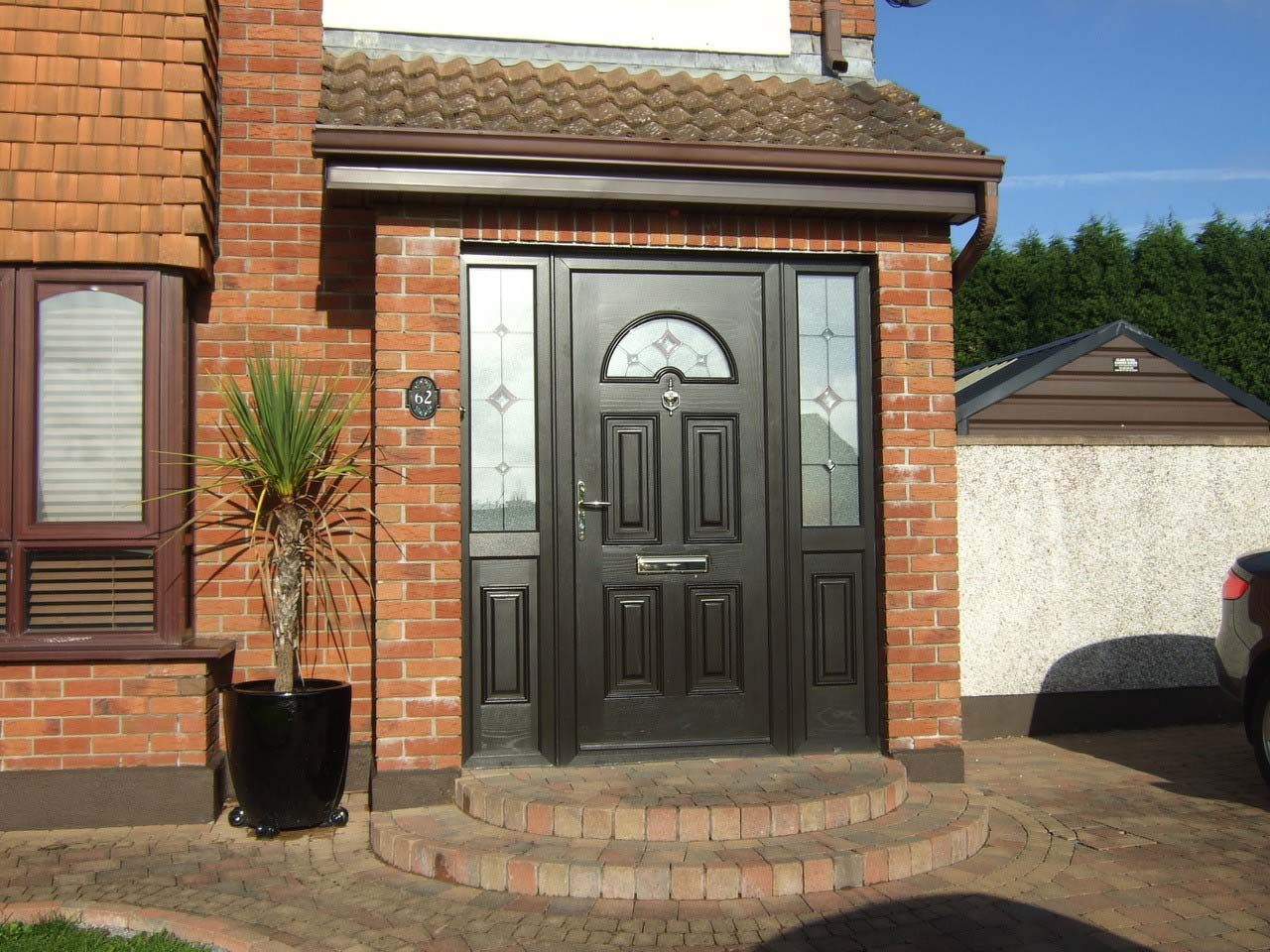 pvcu casement doors