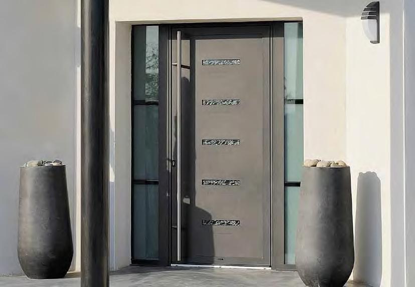 aluminium entrance door