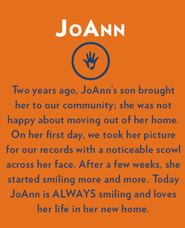 Joann, Collinwood Assisted Living, Colorado