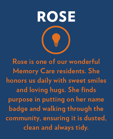 Rose, Collinwood Memory Care, Ft. Collins