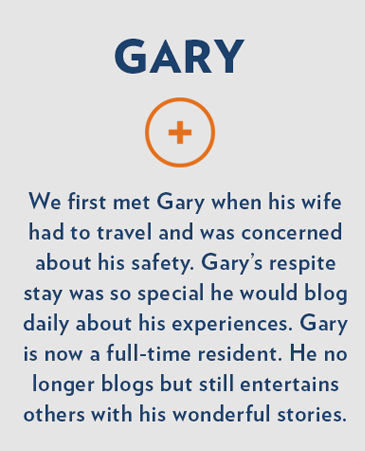 Gary, Collinwood Respite Care, Ft. Collins
