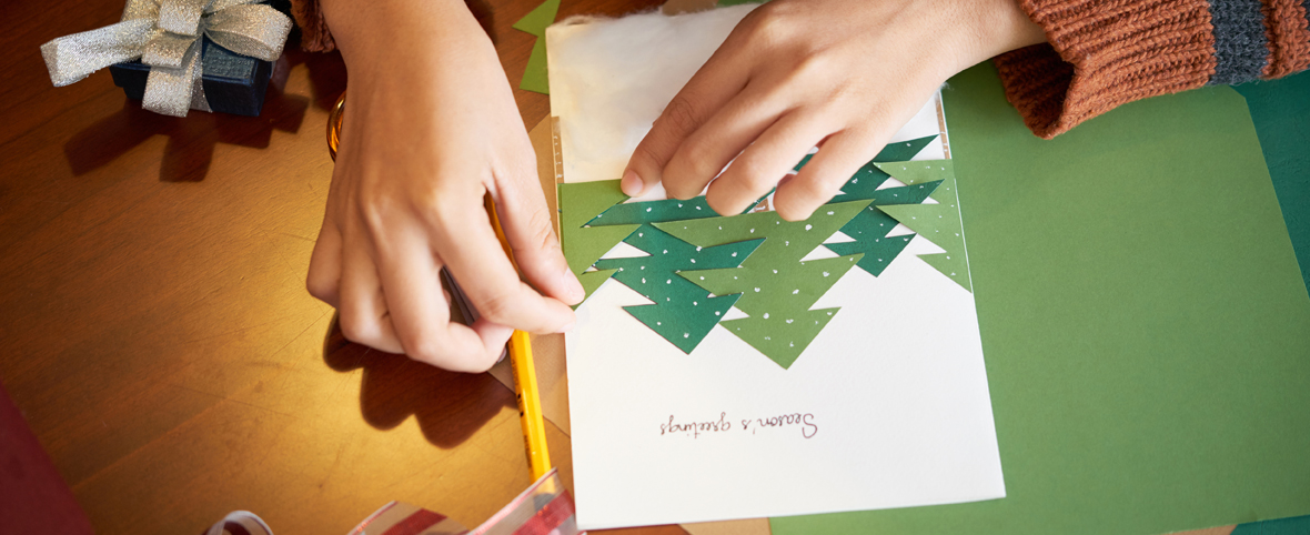 Ideas for Making Christmas Cards in Your Assisted Living Apartment