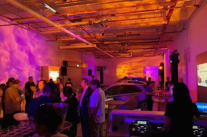 car launch, av production, audio visual lighting, event company singapore, event production, event solutions, stage, music backline, led wall