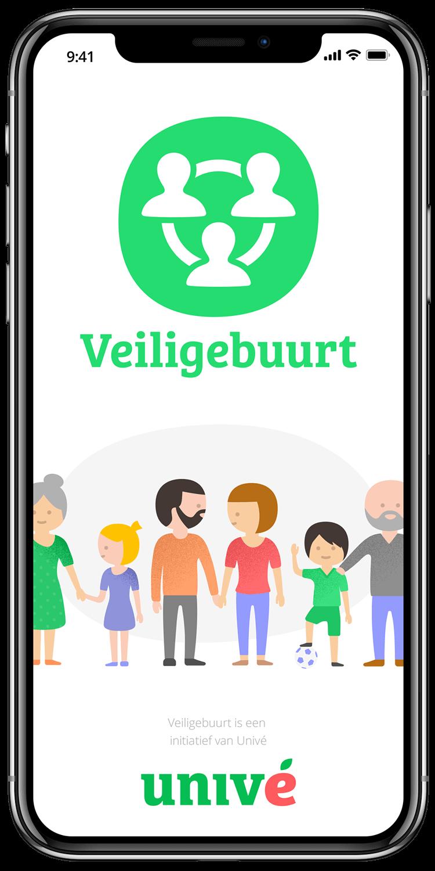 Univé Veiligebuurt app
