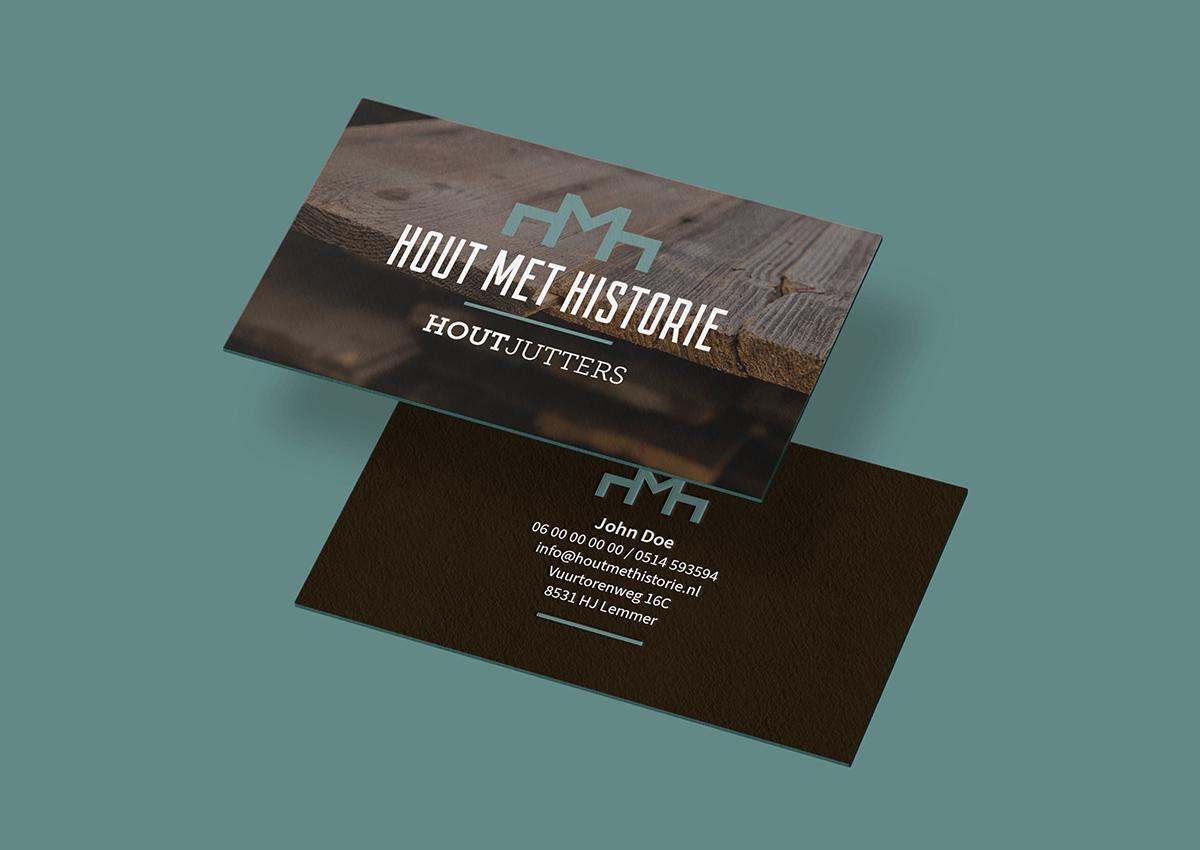Hout met Historie visitekaartje
