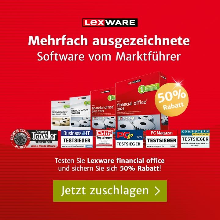 Lexware financial office Software-Varianten im Sale mit 50% Rabatt