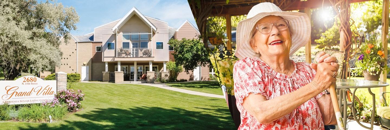 Grand Villa Senior Living Banner, Grand Junction