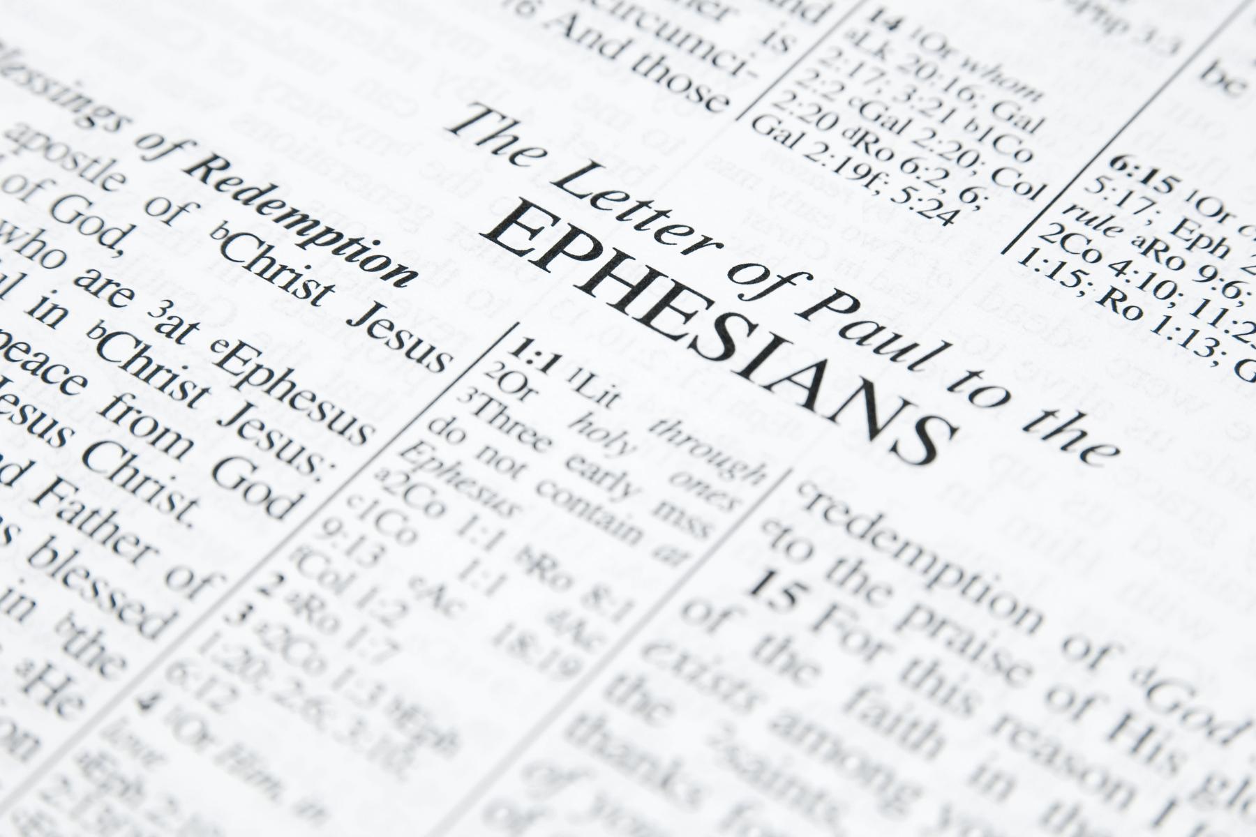 Lessons for Seniors From Ephesians