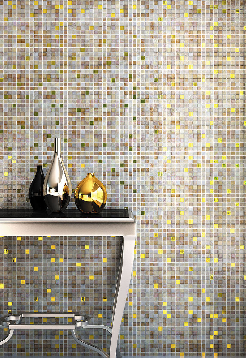 High-end mosaics, reflecting the latest and most innovative trends.