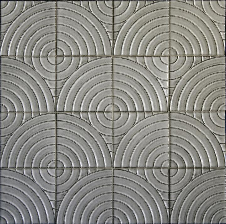 Exquisite line of sophisticated, made-to-order, ceramic tile, all handmade in America.