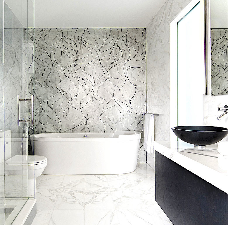 Designer custom glass mosaics handcrafted in New York City.