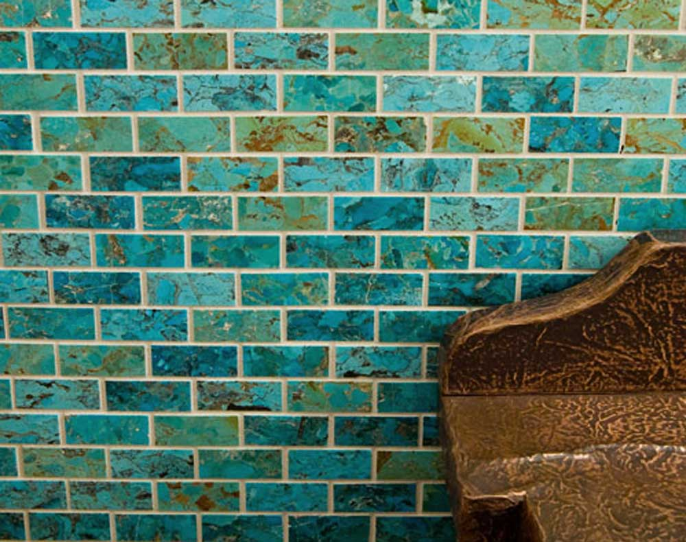 High-end turquoise mosaics from a small, family-owned company in Kingman, Arizona
