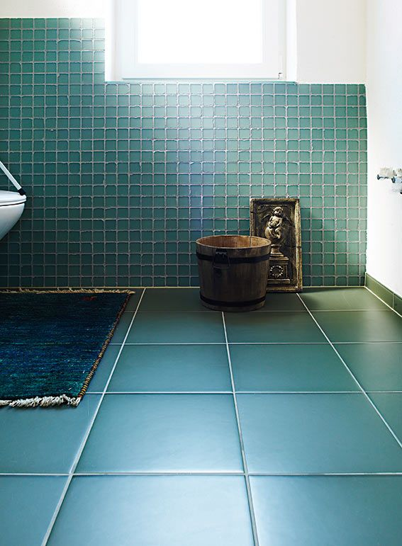Austrian glass tiles that uniquely absorb and reflect light for an ever-changing look.