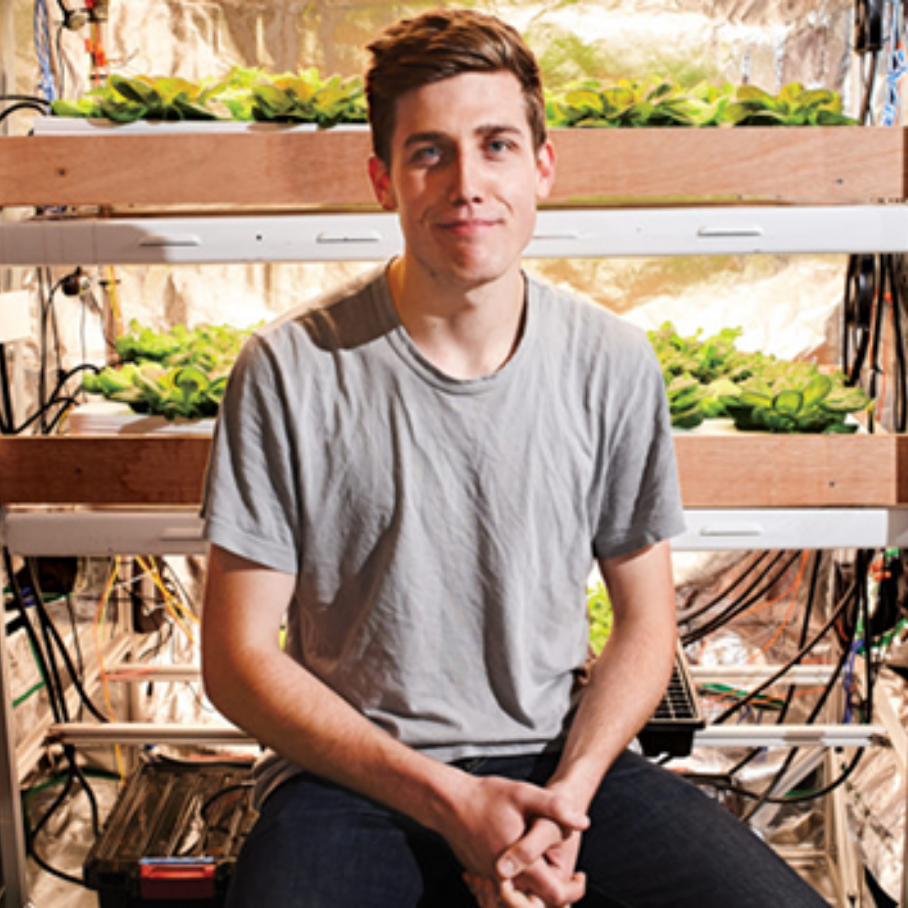 Andrew Shearer, Founder and CEO of Farmshelf