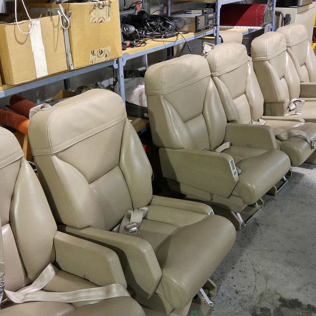 Aviation upholstery cleaning in Port Alberni, BC
