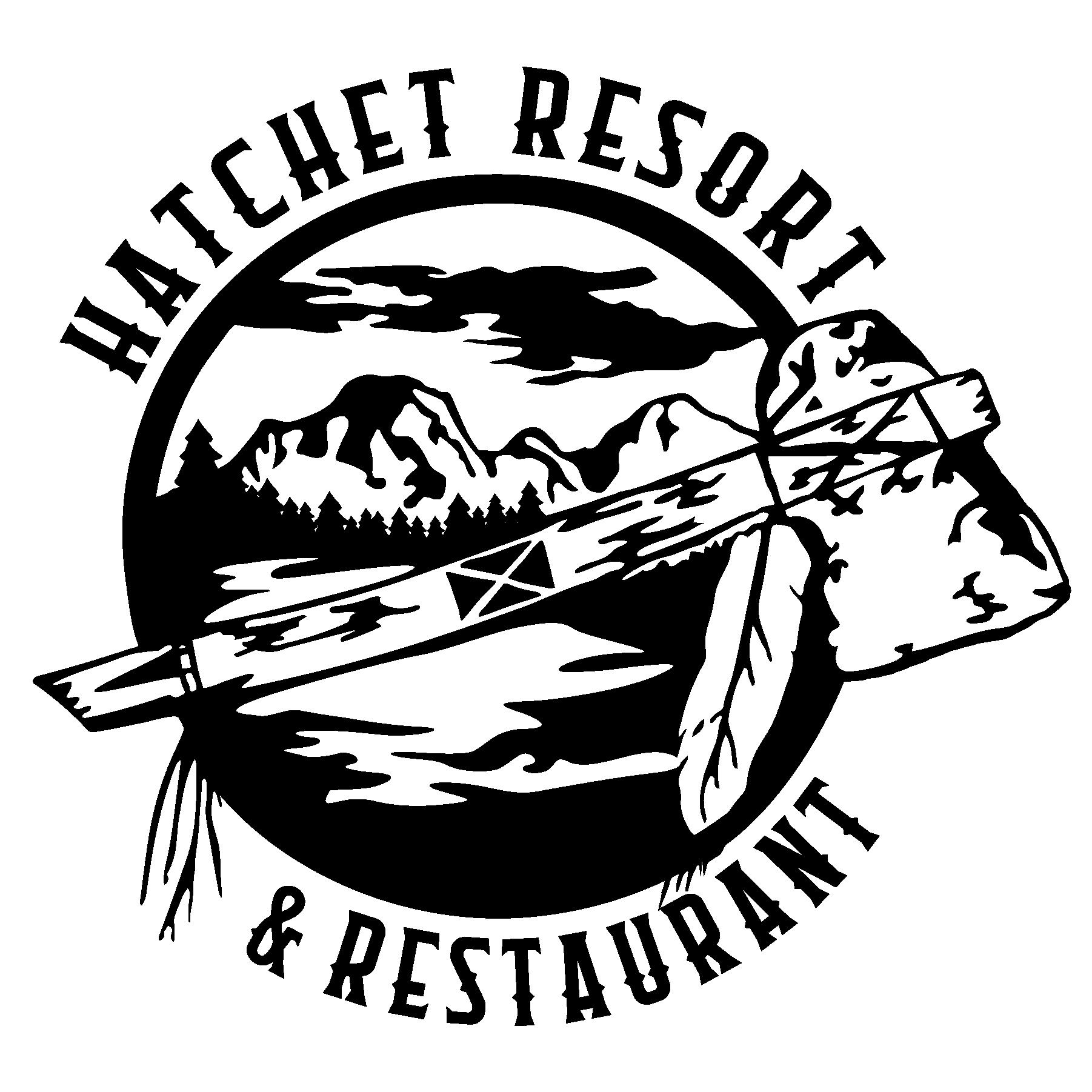 Hatchet Resort Logo.