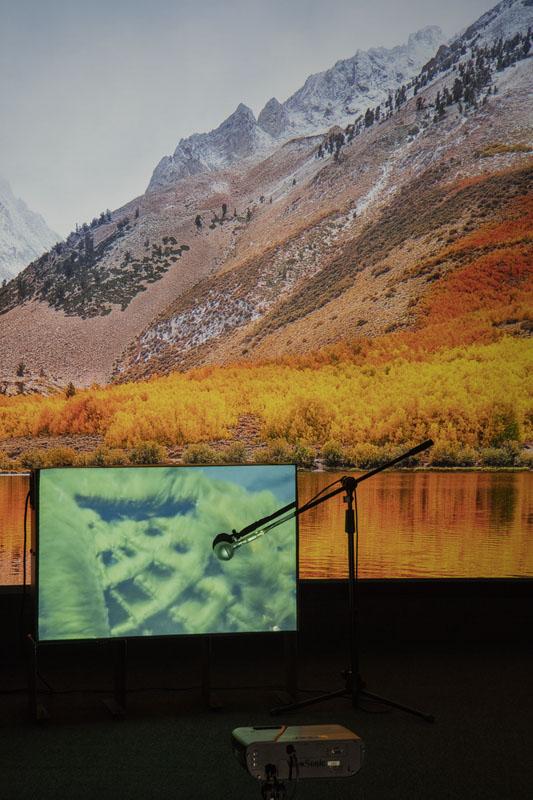 Vista de Redskyfalls Foto: Francisco Kochen