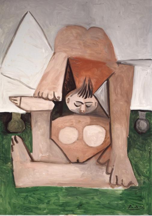 Pablo Picasso, Nu sur un divan, 1960 Museo Tamayo Arte Contemporáneo, INBAL, Secretaría de Cultura