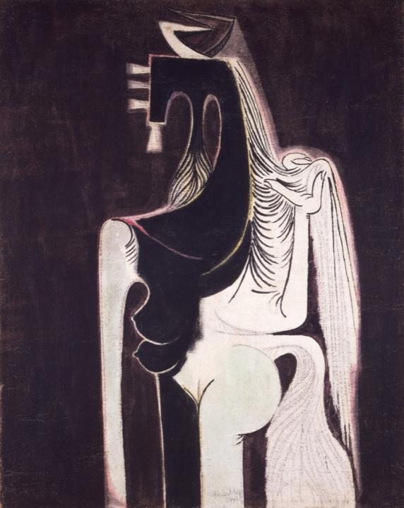 Wifredo Lam. La femme cheval, 1949 Museo Tamayo Arte Contemporáneo, INBAL, Secretaría de Cultura