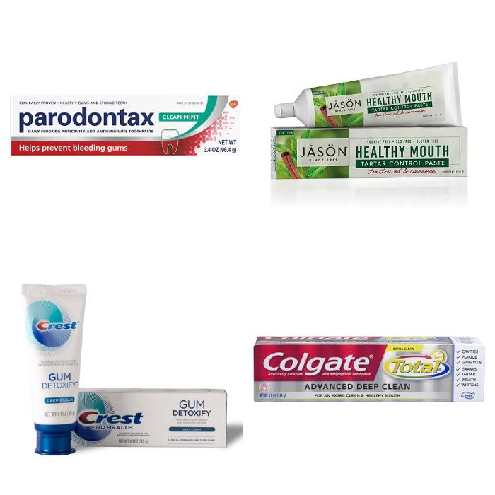 Toothpaste recommendations for gum disease