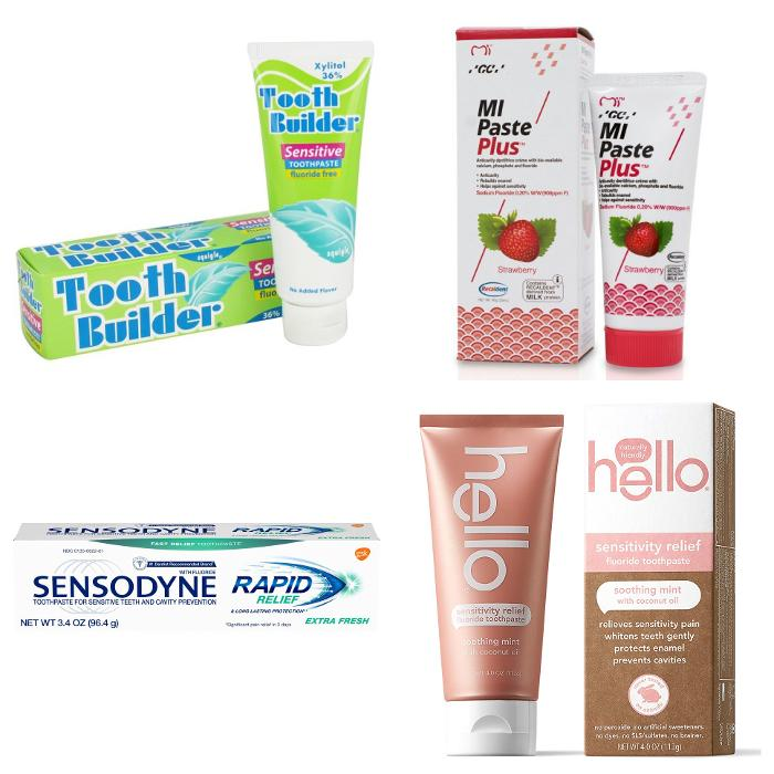 Toothpaste recommendations for teeth sensitivity