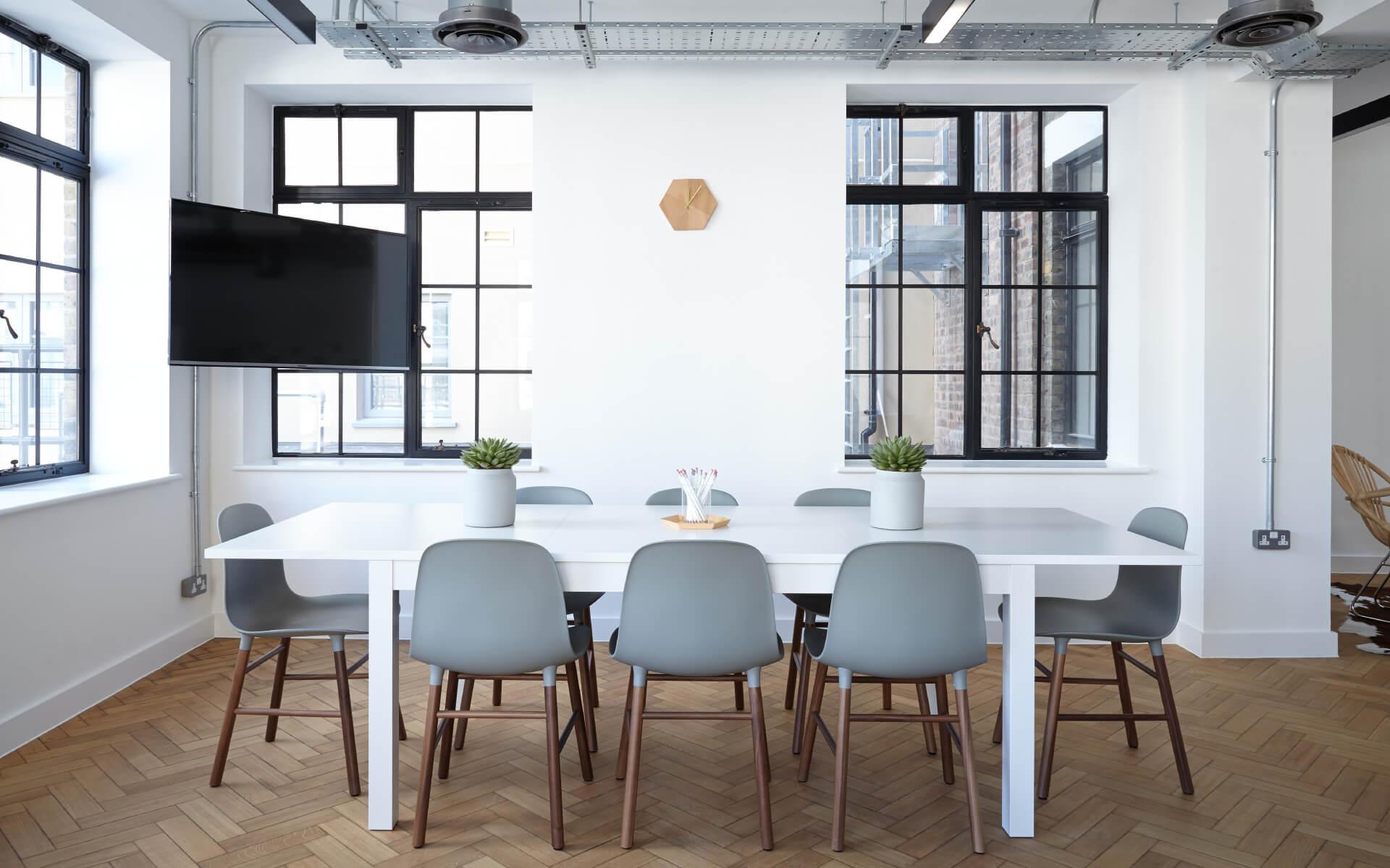 empty office meeting room