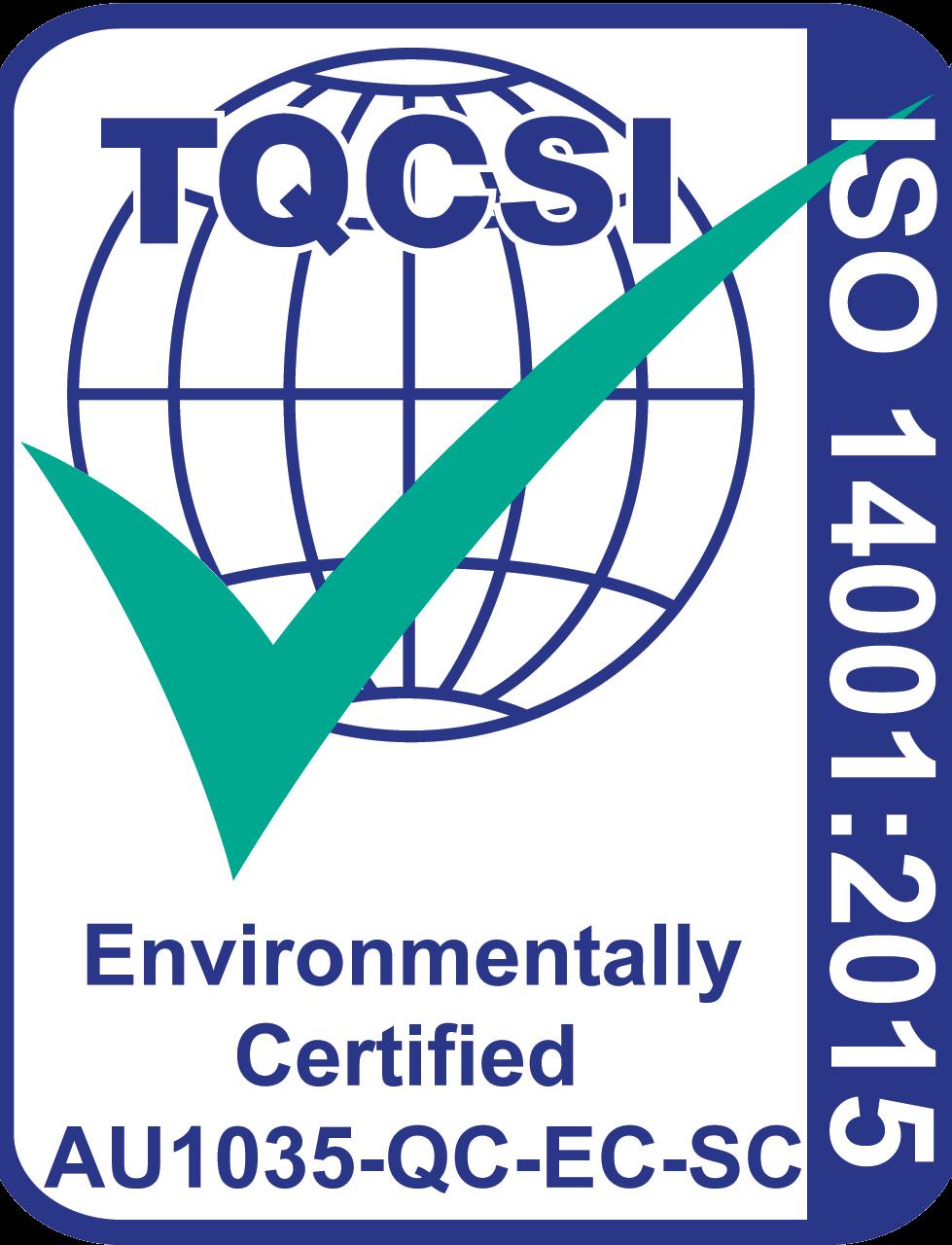 ISO 1400 Accreditation