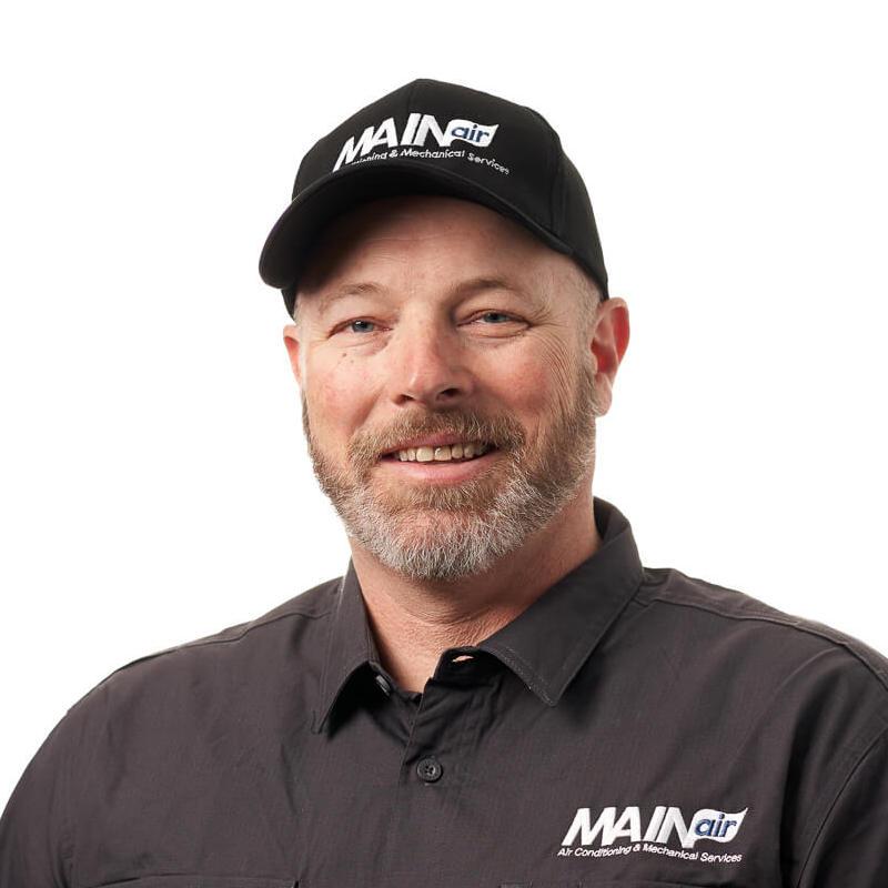 Mark Baker MAINair HVAC team