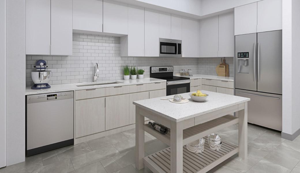 The Mid Apartment Kitchen