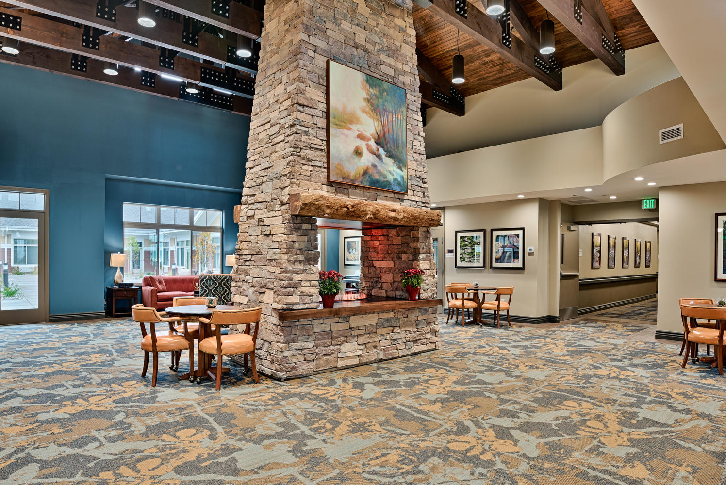 Bethesda Gardens Monument Assisted Living Siting Area