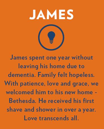 James, Bethesda Gardens Monument Memory Care